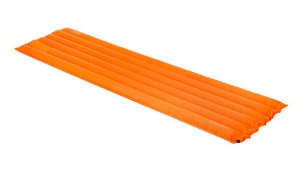 Highlander Luftmatratze Trail orange 185x50x7cm leicht