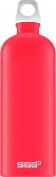 SIGG Alutrinkflasche Lucid Touch Scarlet rot 1l Trinkflasche Alu Aluminium Schule Sport Outdoor