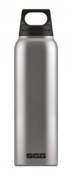 SIGG Isoflasche Hot & Cold Accent 0.5l brushed Thermoflasche Trinkflasche Edelstahl Thermo Isolierung Teefilter