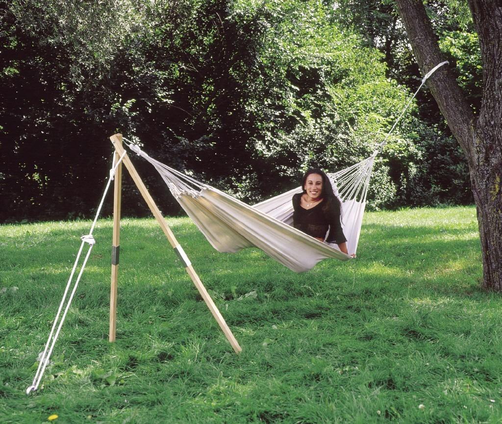 amazonas h ngemattengestell madera eschenholz zerlegbar. Black Bedroom Furniture Sets. Home Design Ideas