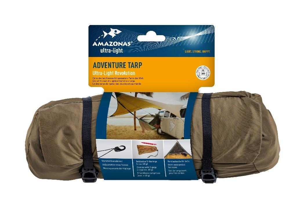 Amazonas Tarp Adventure 3.40 Meter lang trapezförmig Trapez robust neu Wettersch Camping & Outdoor