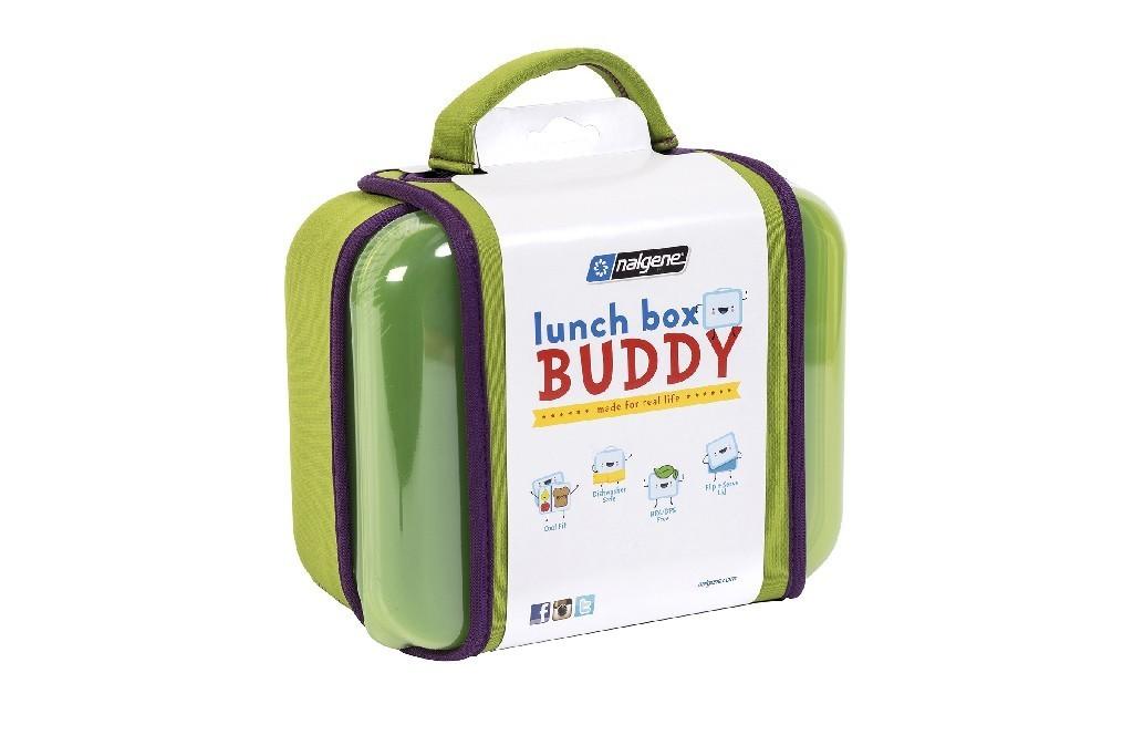 nalgene lunchbox buddy gr n proviant brotzeit dose box picknick schule ausflug freizeit sport. Black Bedroom Furniture Sets. Home Design Ideas