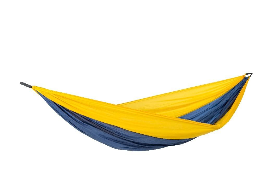amazonas h ngematte adventure xxl nemo yellow leicht ripstop nylon stabil urlaub ausflug camping. Black Bedroom Furniture Sets. Home Design Ideas