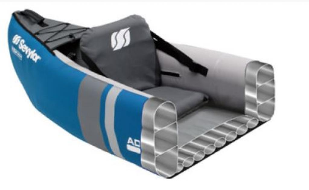 sevylor kanu adventure luftboot 2 personen paddel pumpe. Black Bedroom Furniture Sets. Home Design Ideas