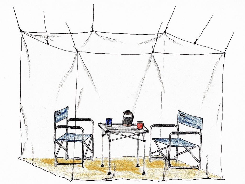 basic nature moskitonetz klassik doppel mesh 850 m ckenschutz insektenschutz camping freizeit. Black Bedroom Furniture Sets. Home Design Ideas