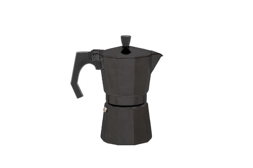 kaufen sie espresso maschine maker 6 tassen aluminium schwarz relags bei mctramp24. Black Bedroom Furniture Sets. Home Design Ideas
