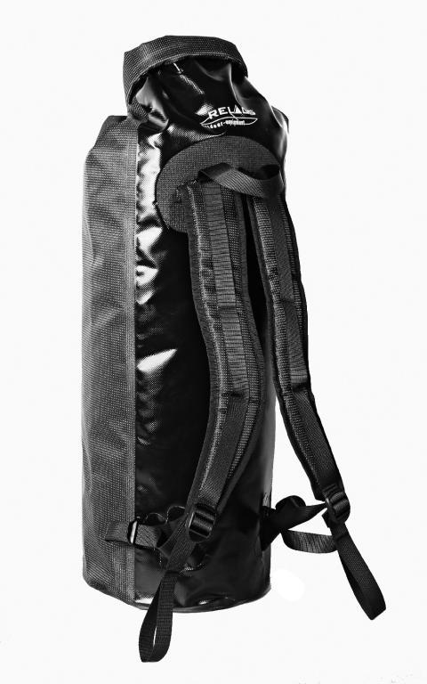 Relags Seesack Rucksack 90l schwarz Transportsack wasserdicht Packtasche Rollver