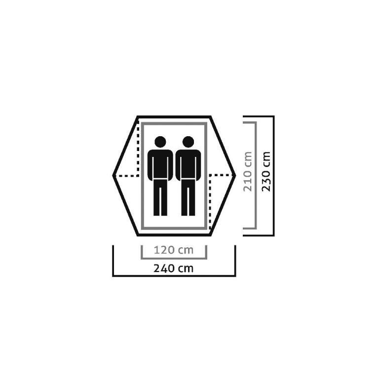 salewa zelt denali trekkingzelt 2 personen leichtzelt kuppelzelt apside camping zelten trekking. Black Bedroom Furniture Sets. Home Design Ideas